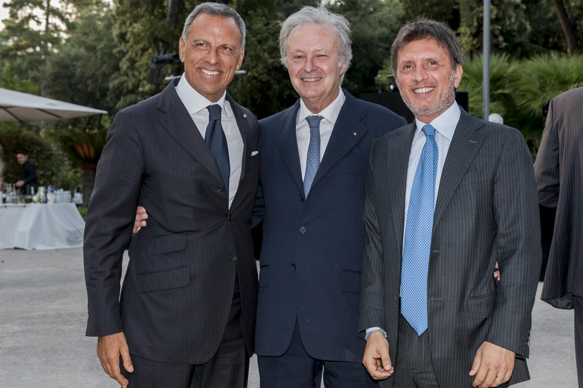 Casina Valadier 2018 Eduardo Montefusco, Romano Dalla Chiesa, Fabio De Furia